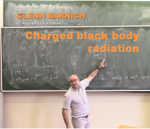 ПУБЛИКУЕМ ЛЕКЦИЮ GLENN BARNICH «Charged black body radiation»